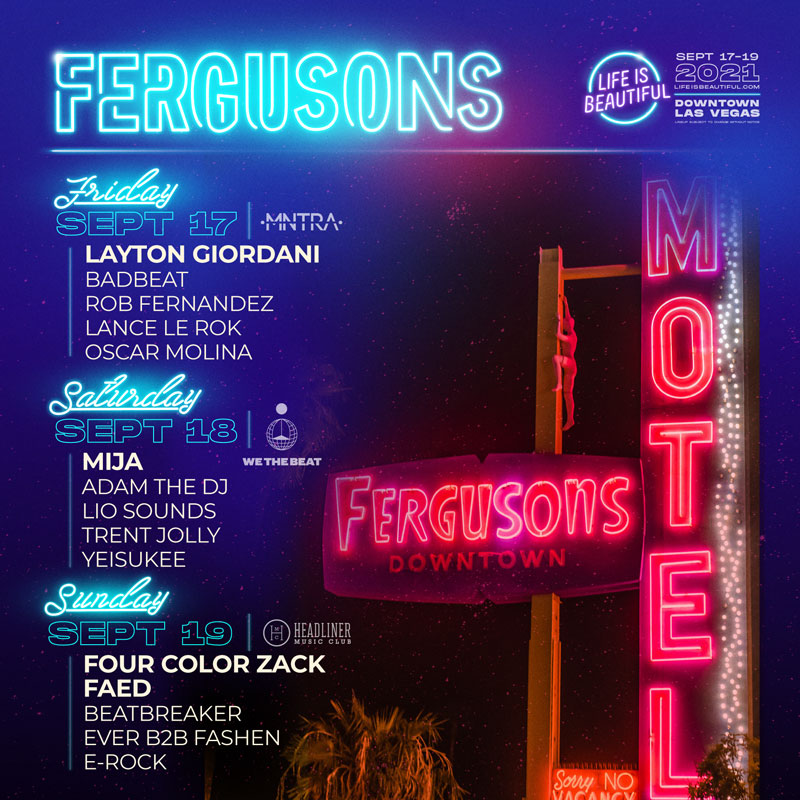 Fergusons Downtown Stage